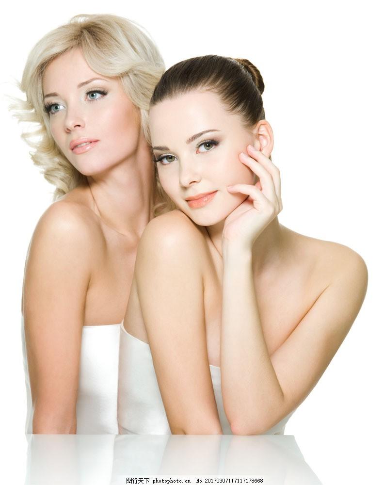 时尚美容模特美女 时尚美容模特美女图片素材 美容护肤 美白女性