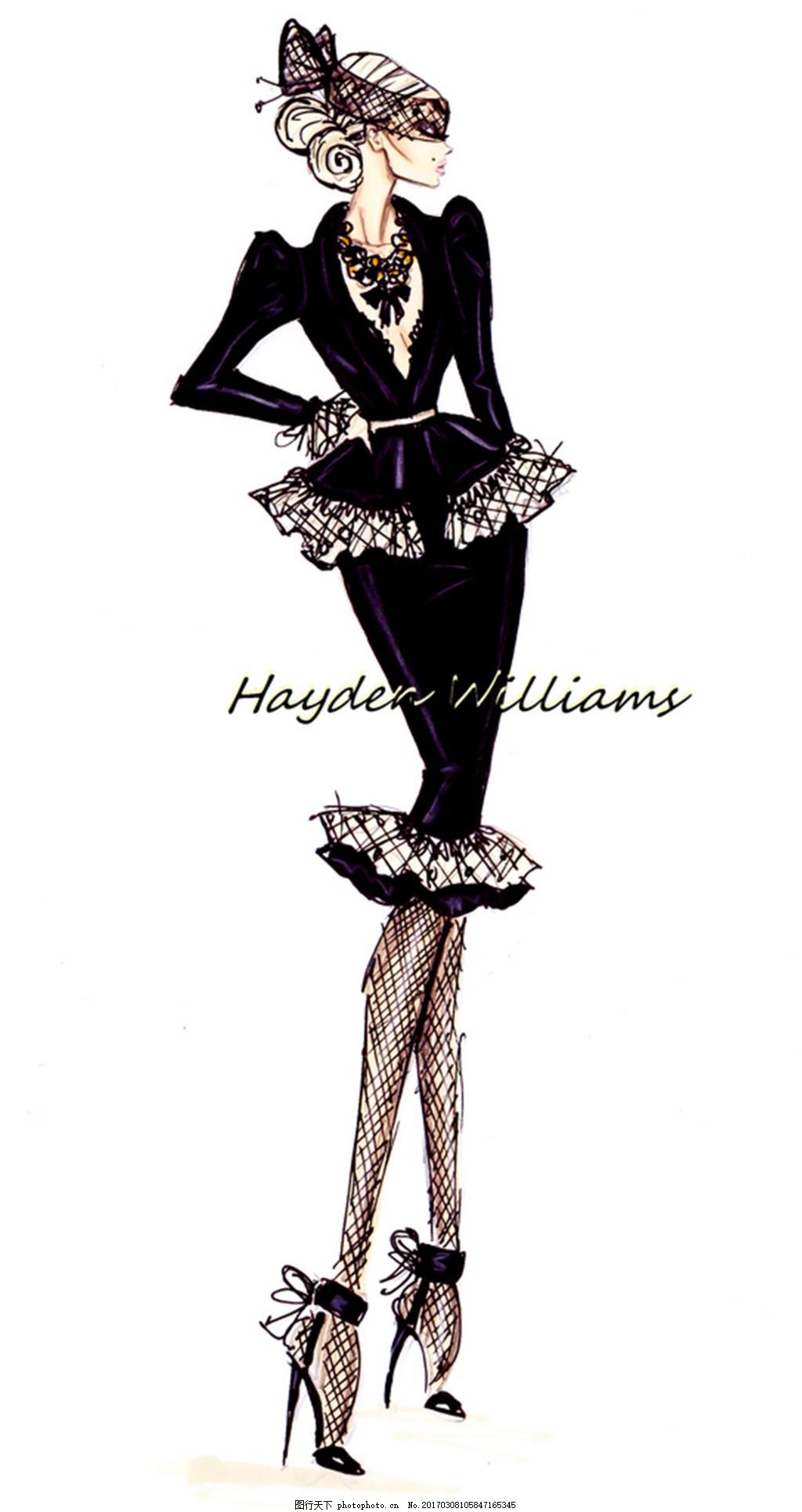 服装设计 时尚女装 职业女装 职业装 女装设计效果图 jpg 短裙 衬衫