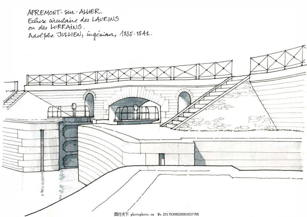 欧式广场效果图 建筑平面图素材免费下载 手绘图 图纸 建筑 平面图
