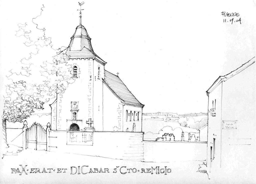欧式建筑手绘平面图