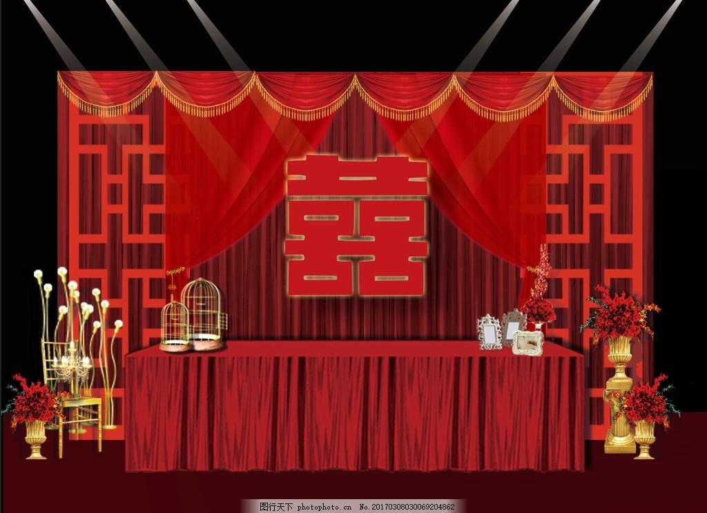 中式主题婚礼 婚礼 主题婚礼 红色主题婚礼 红色中式婚礼 婚礼布置