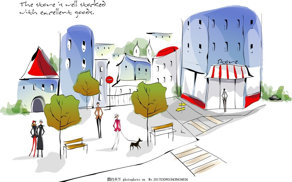 手绘 清新图案 主题酒店墙绘 宾馆墙绘      设计 动漫动画 风景漫画