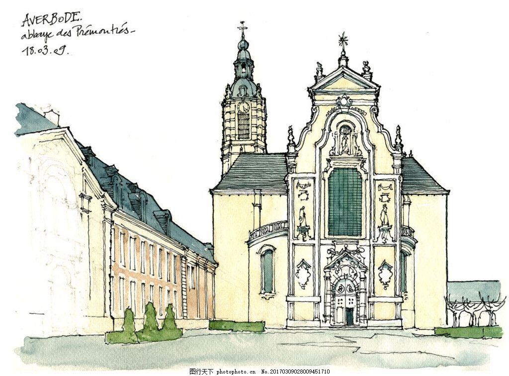 建筑 平面图 jpg 城堡 建筑施工图 建筑平面图 欧式建筑 建筑效果图