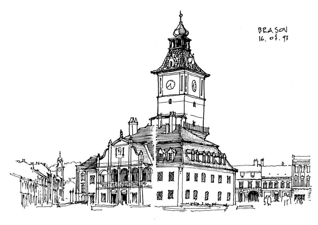 欧式建筑效果图 建筑效果图素材免费下载 手绘图 图纸 平面图 城堡