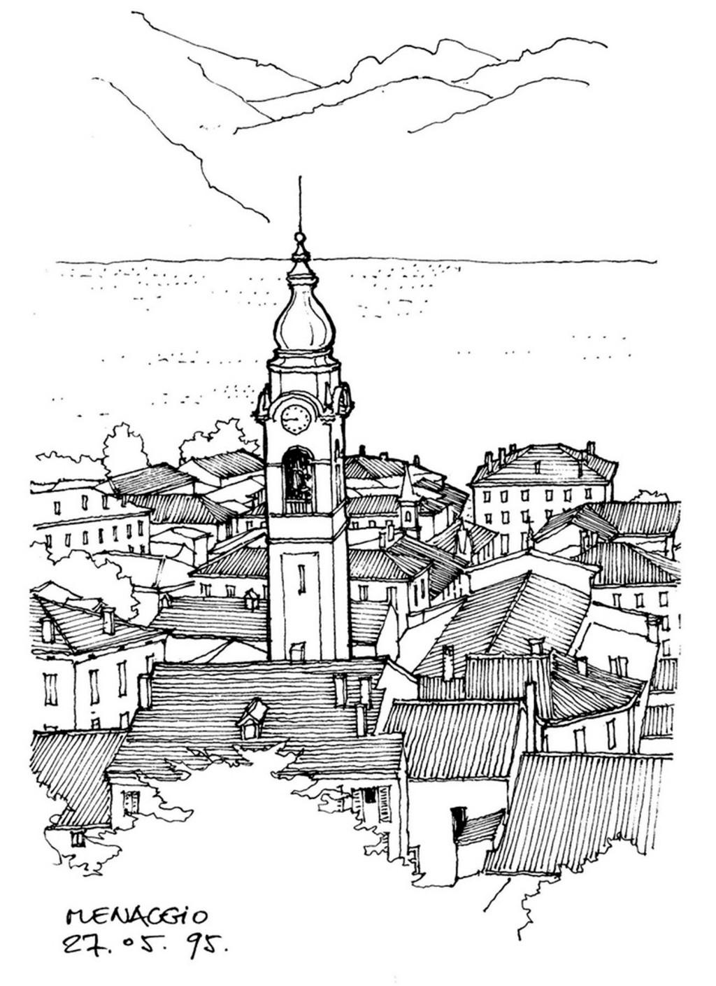 欧式建筑群 建筑平面图素材免费下载 手绘图 图纸 城堡 建筑施工图