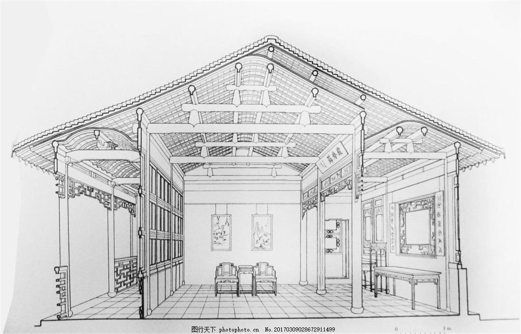 建筑室内装修效果图 建筑平面图素材免费下载 手绘图 图纸 城堡