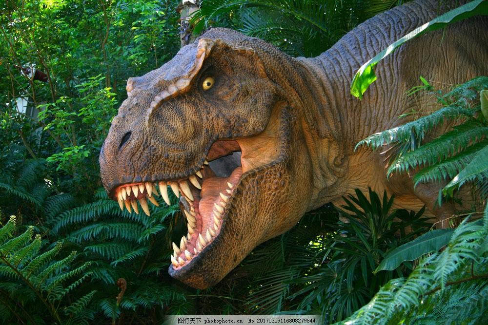霸王龙 霸王龙图片素材 恐龙 动物世界 史前动物 陆地动物 生物世界