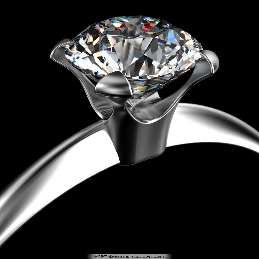 钻戒 钻戒图片素材 珠宝首饰 金银首饰 金银珠宝 戒指 钻石戒指