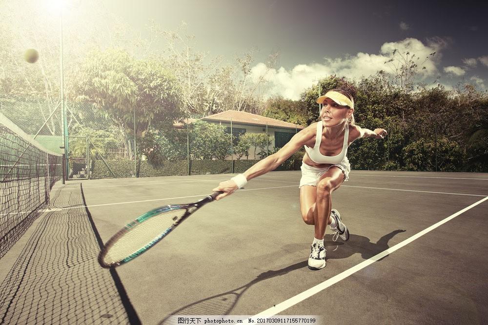 性感网球运动员