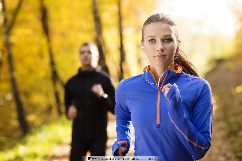 跑步运动员 跑步运动员图片素材 跑步的美女 冲过终点 健身 性感美女