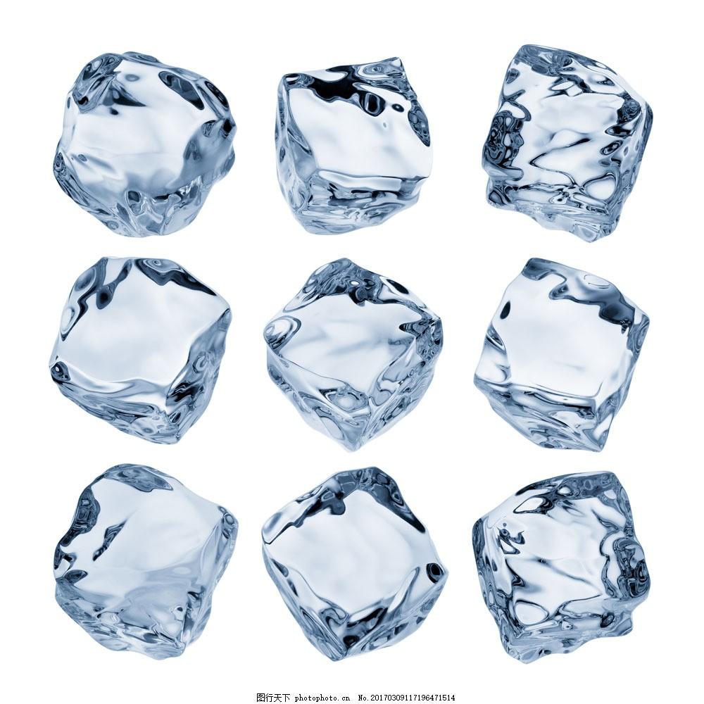 格子冰图片素材 冰 冰块 冰块设计 冰块摄影 水 水滴 火焰图片 生活