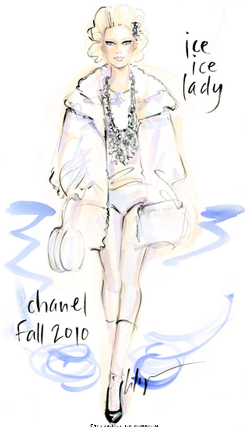 休闲羽绒服设计图 服装设计 时尚女装 职业女装 职业装 女装设计效果