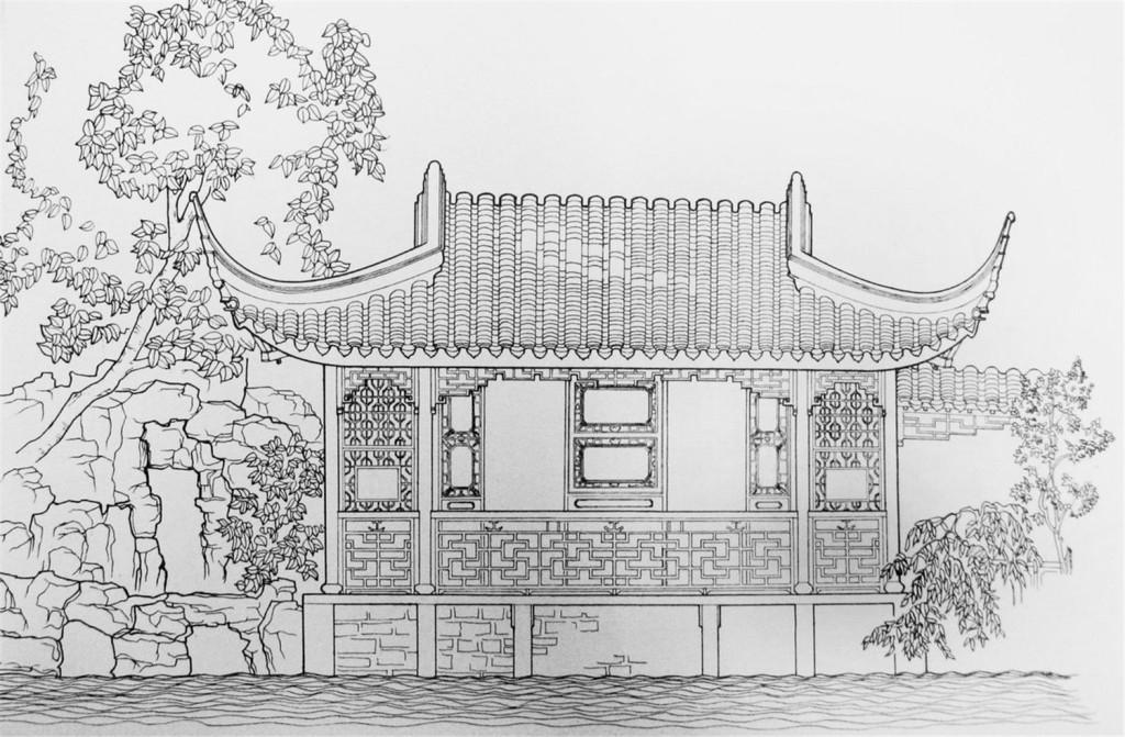 韩式建筑效果图 建筑平面图素材免费下载 手绘图 图纸 城堡 建筑施工