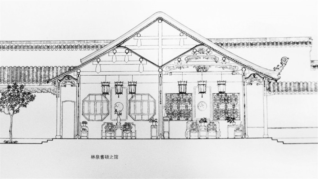手绘房屋效果图