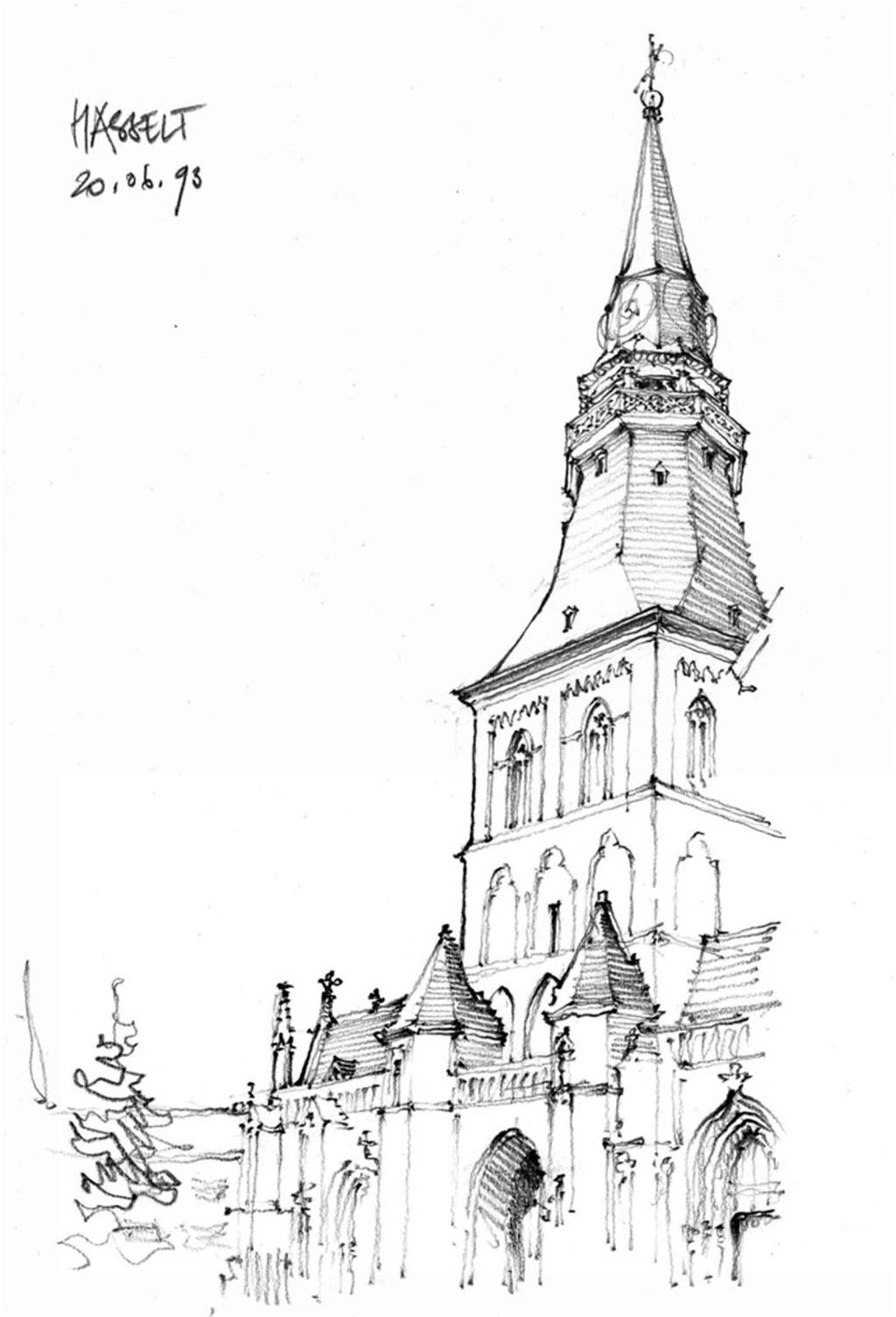 欧式建筑平面图素材 建筑效果图素材免费下载 手绘图 图纸 城堡