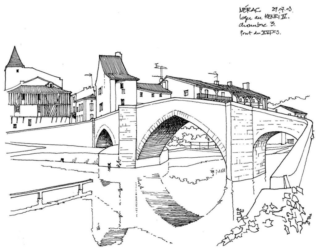 欧式海上拱桥