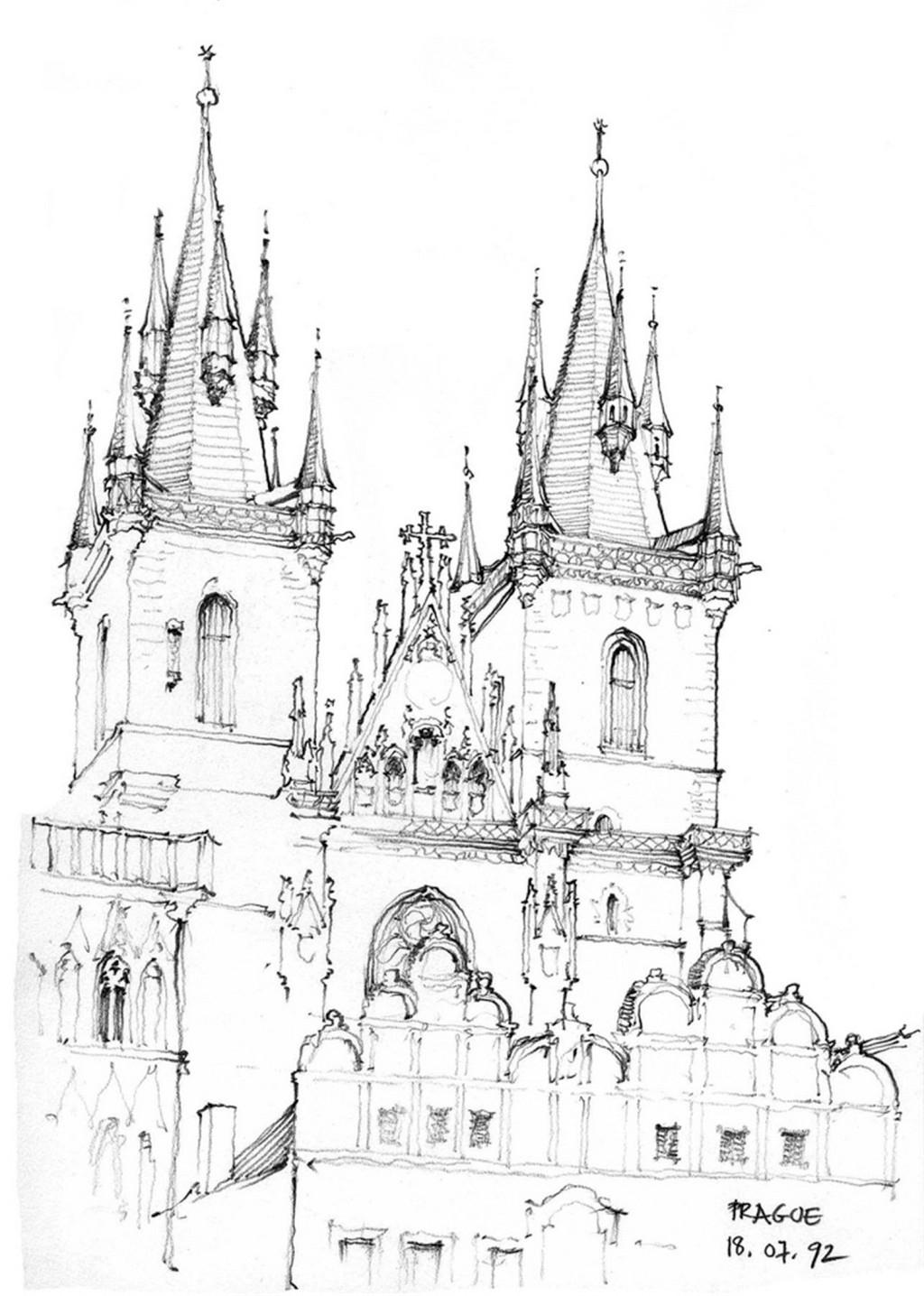 欧式城堡效果图