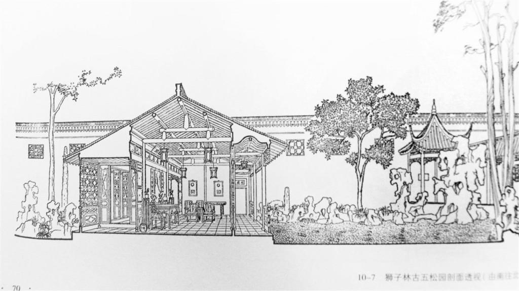 中式建筑效果图