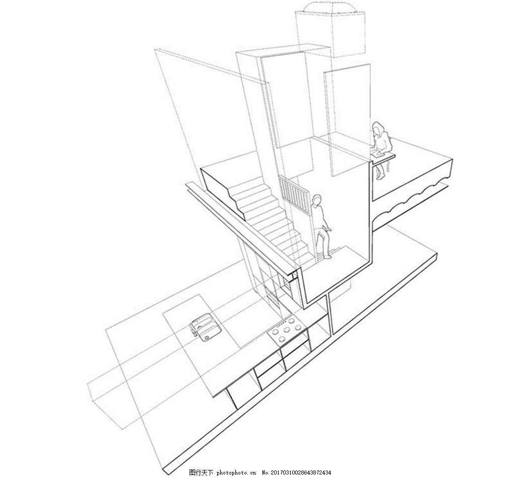 3d单身公寓装修效果图
