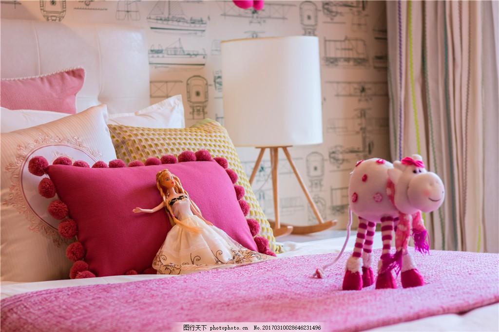 温馨浪漫卧室装修效果图