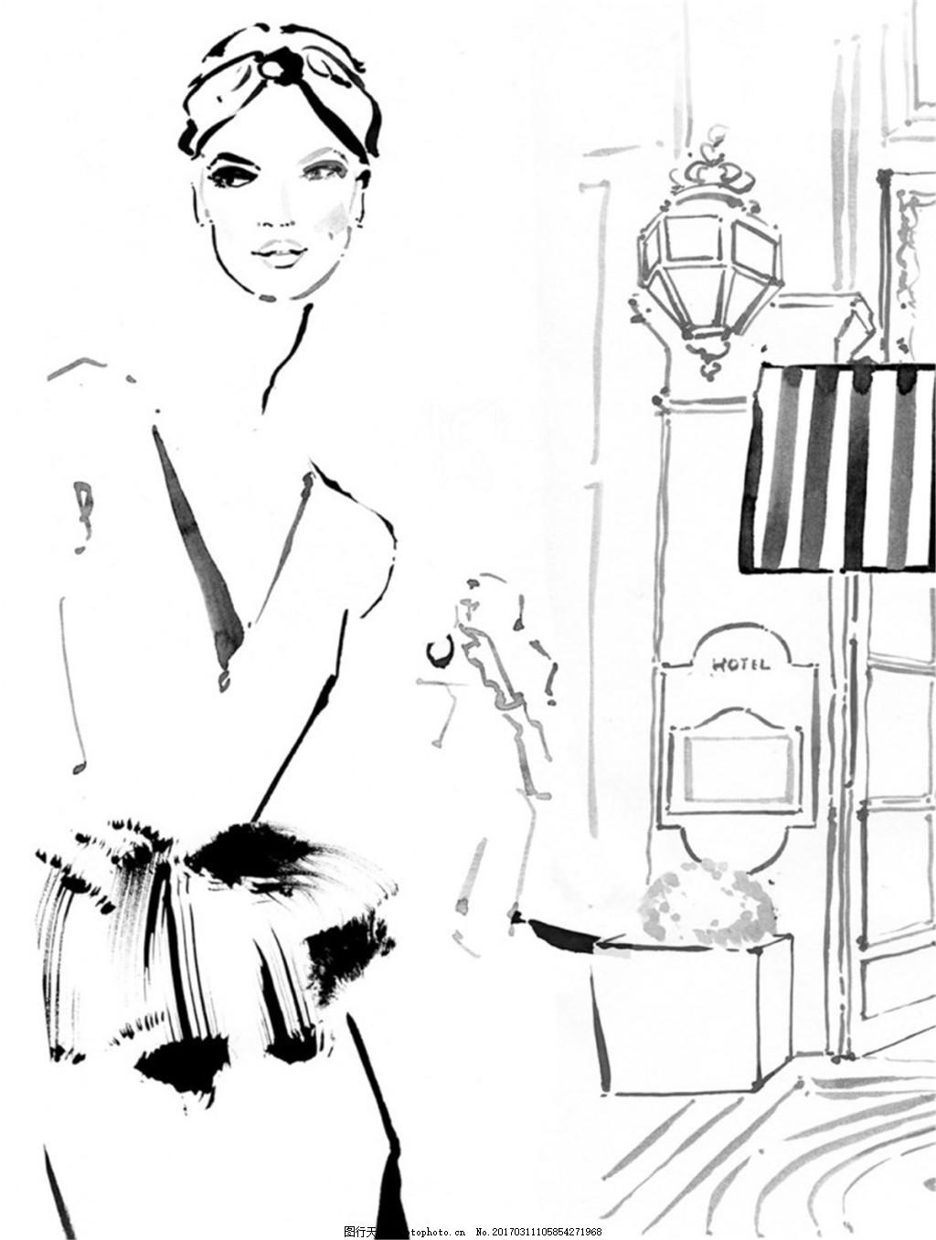 女装设计图 服装设计 时尚女装 职业女装 职业装 女装设计效果图 jpg