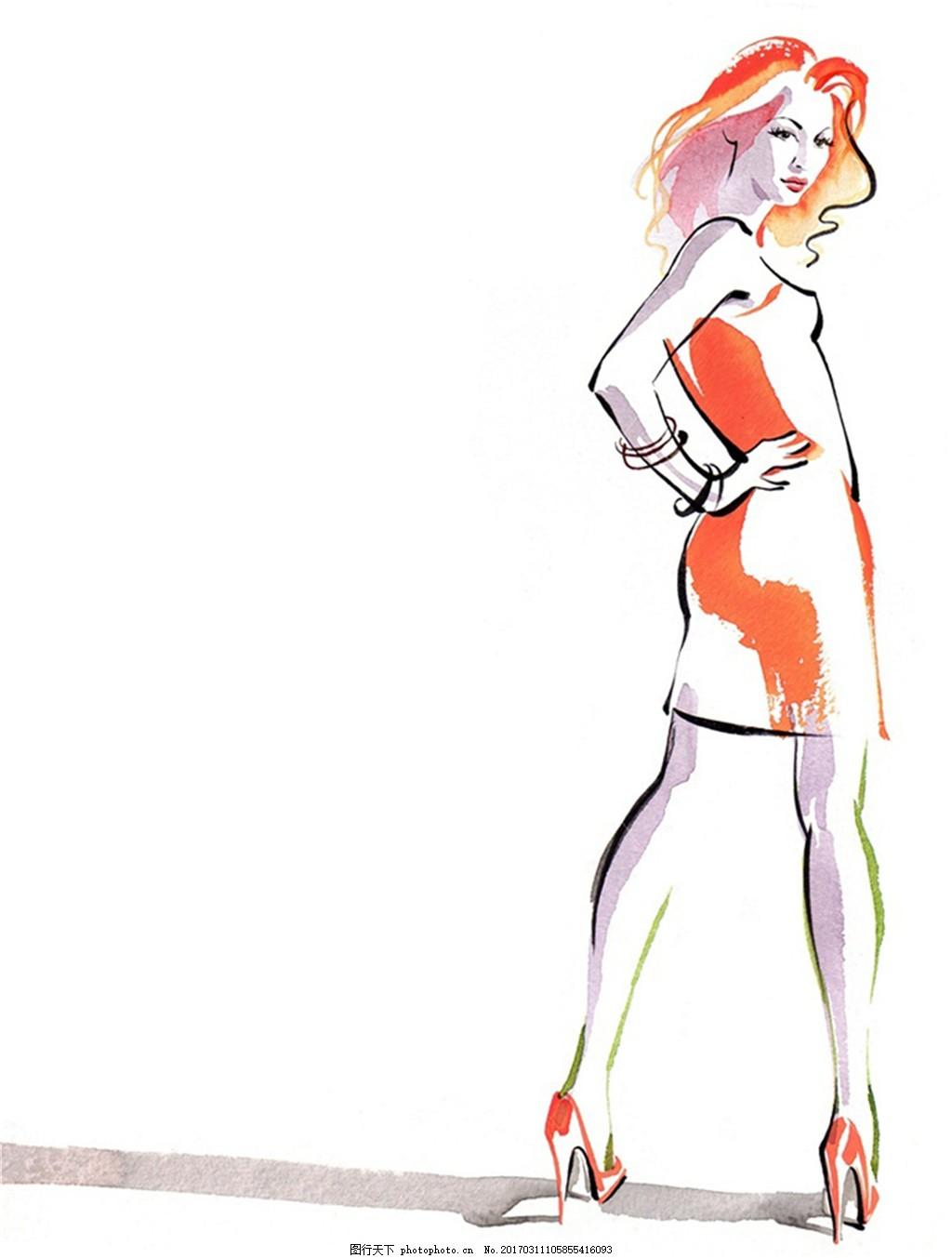连衣裙设计图
