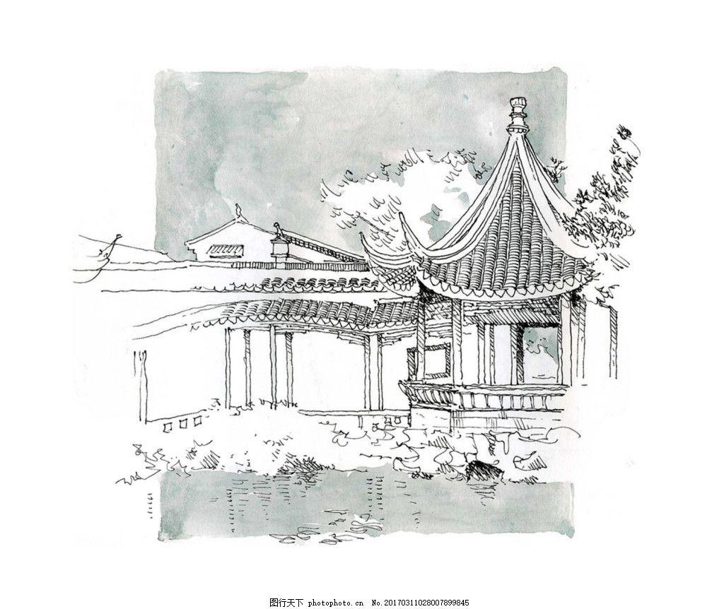 jpg 城堡 建筑施工图 建筑平面图 欧式建筑 建筑效果图 休闲亭 亭子