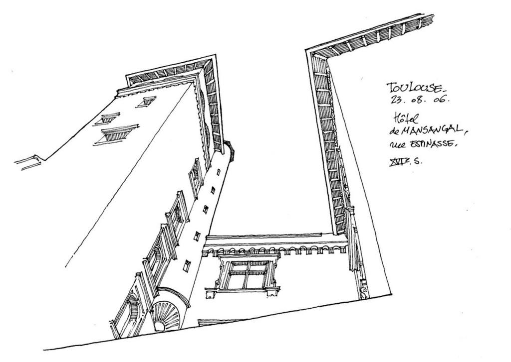 欧式建筑角度效果图 建筑平面图素材免费下载 手绘图 图纸 建筑 平面