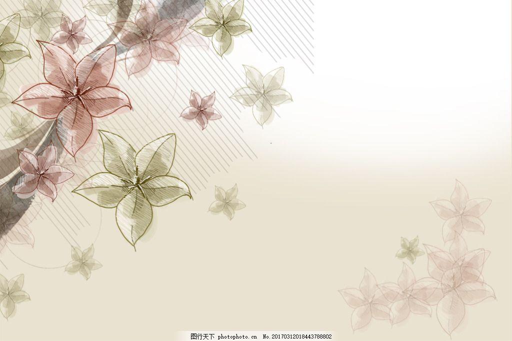 艺术花唯美 电视背景墙 简约 美式 欧式 手绘 温馨 温馨