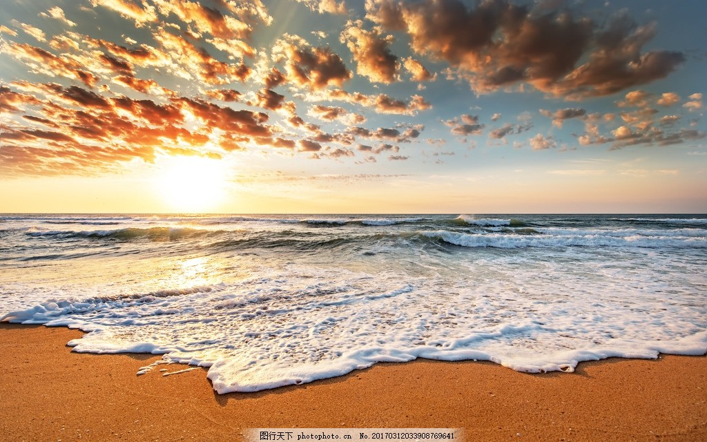 南沙大海 唯美 风景 风光 旅行 自然 海边 海景 南沙群岛 海南