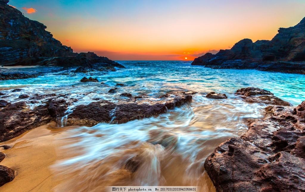 青岛大海 唯美 风景 风光 旅行 自然 海边 海景 海岸 沙滩