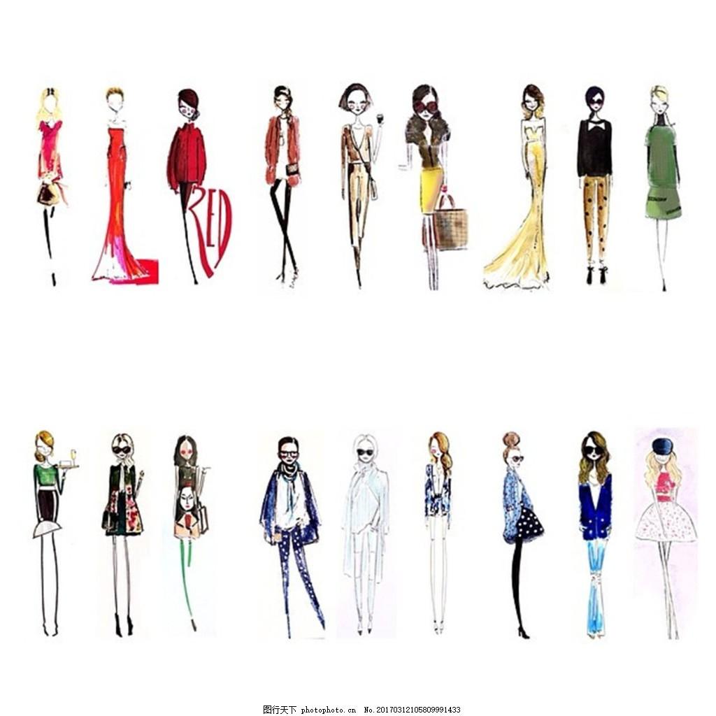 时尚女装 职业女装 职业装 女装设计效果图 jpg 短裙 衬衫 服装图片