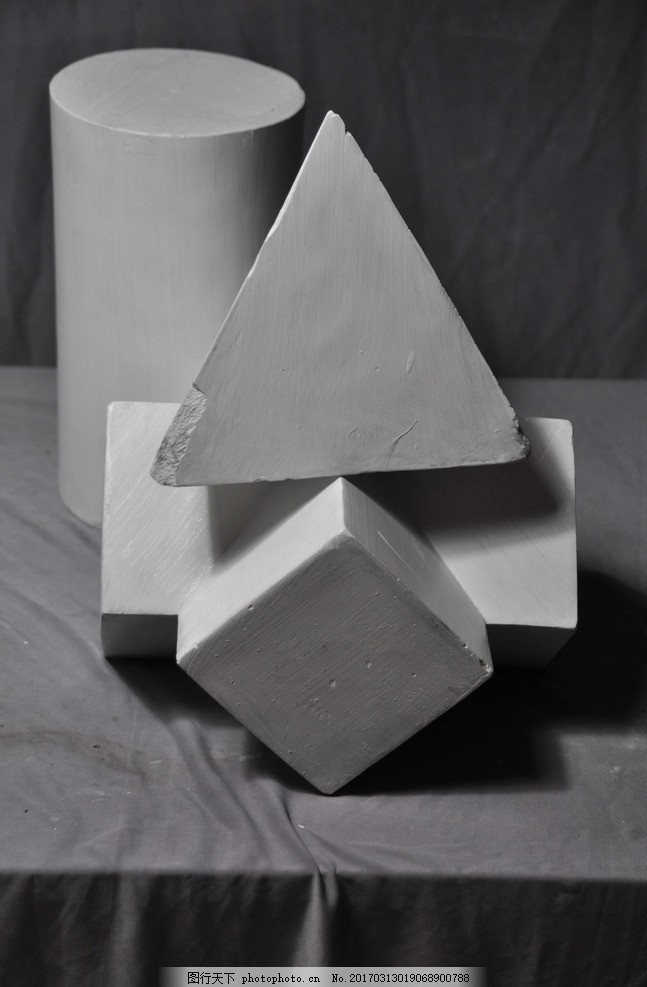 石膏 复几何体组合
