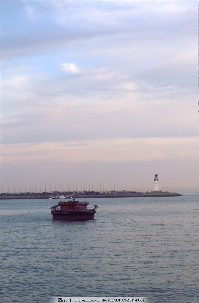傍晚的奥帆基地 青岛 五四广场 奥帆基地 海边 傍晚 摄影 旅游摄影