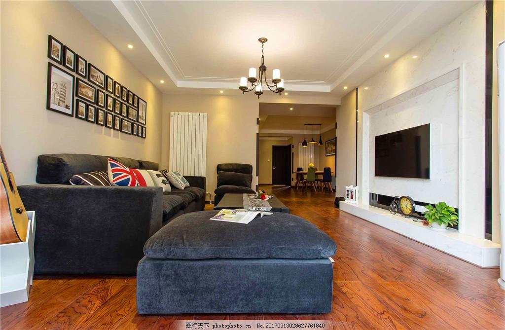 小居室客厅装修效果图 家装效果图 欧式装修效果图 奢华 设计素材