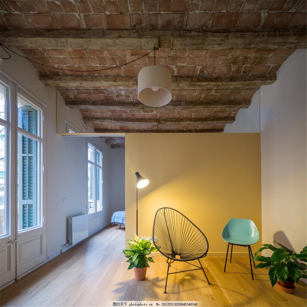 家居休闲区装修效果图 室内设计 家装效果图 欧式装修效果图 时尚