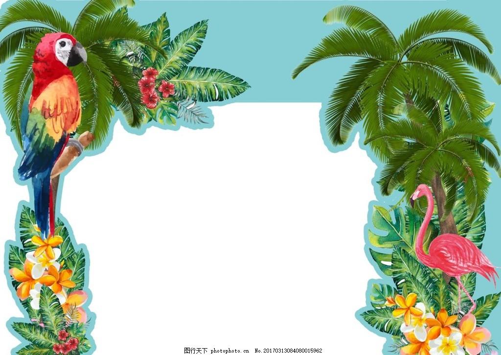 热带雨林门头 美陈门头 热带雨林 热带ag游戏直营网|平台 热带植物 商场超市美陈