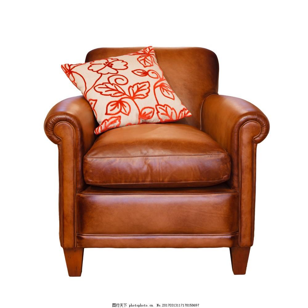 复古皮沙发图片素材 沙发家具 皮沙发 欧式沙发 沙发椅子 复古沙发