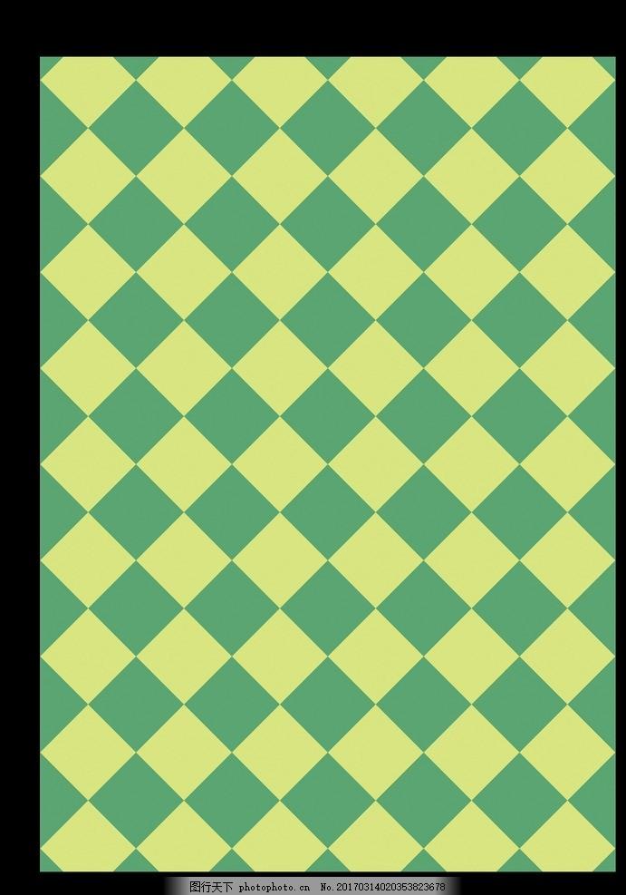 格子花纹背景 菱形格子花纹 菱形背景 绿色背景花纹 手绘花纹 花纹