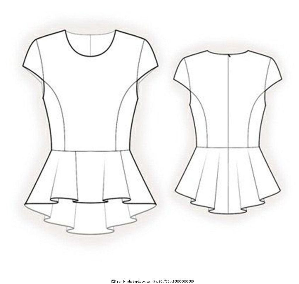 休闲女装设计图 服装设计 时尚女装 职业女装 职业装 女装设计效果图