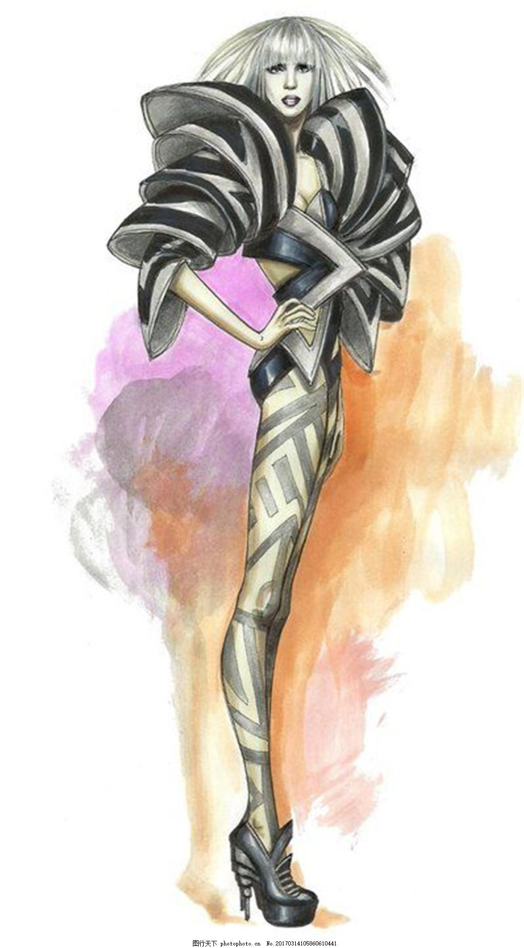 时尚女装设计图