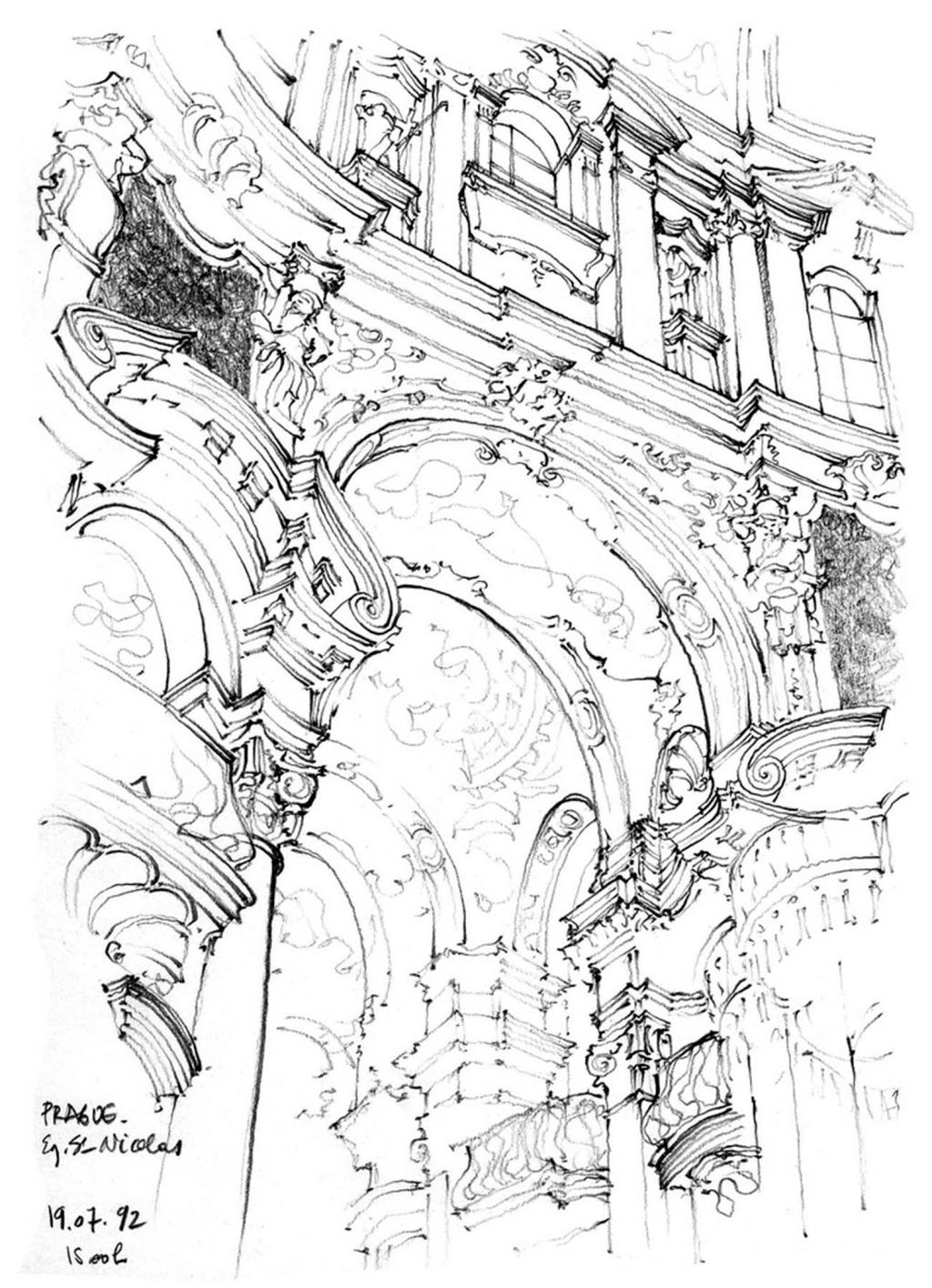 欧式建筑拱门效果图 建筑平面图素材免费下载 手绘图 图纸 城堡
