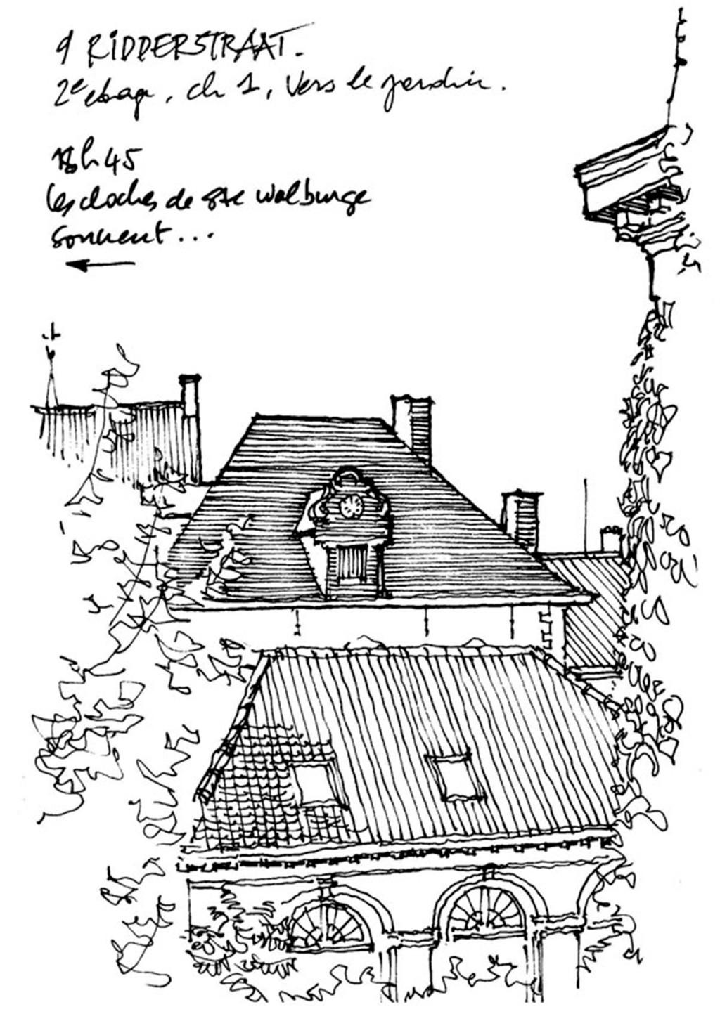 欧式建筑房顶