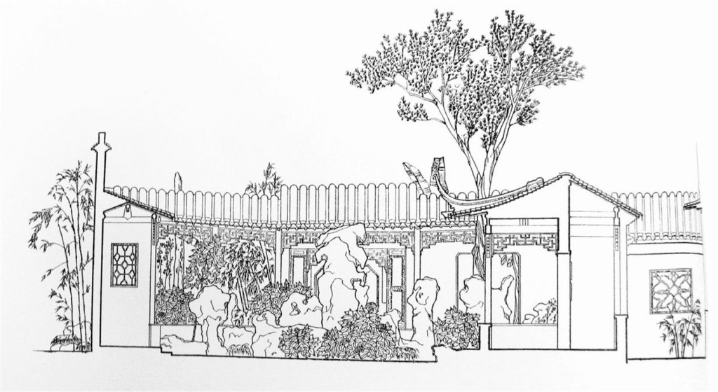 手绘建筑效果图