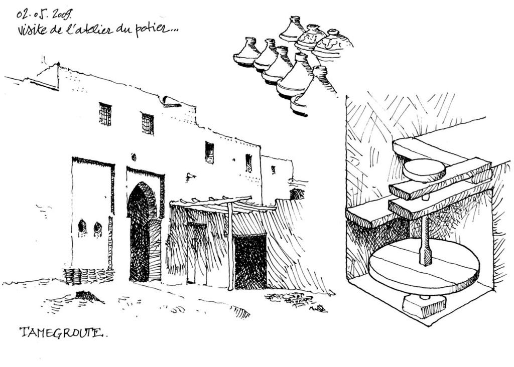 中式古建筑效果图
