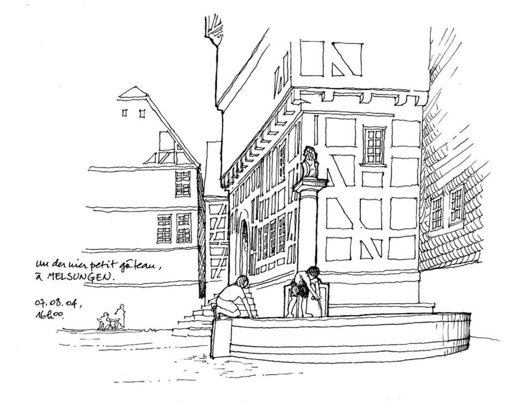 欧式广场建筑效果图 建筑平面图素材免费下载 手绘图 图纸 建筑 平面