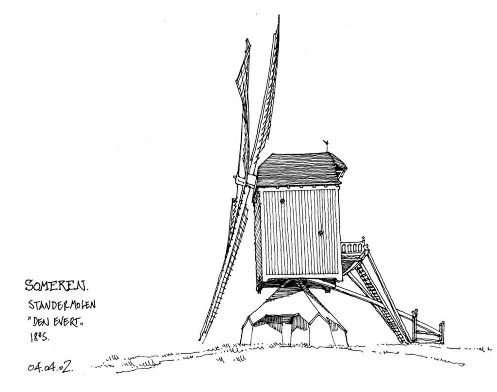 风车建筑效果图 建筑平面图素材免费下载 手绘图 图纸 城堡 建筑施工