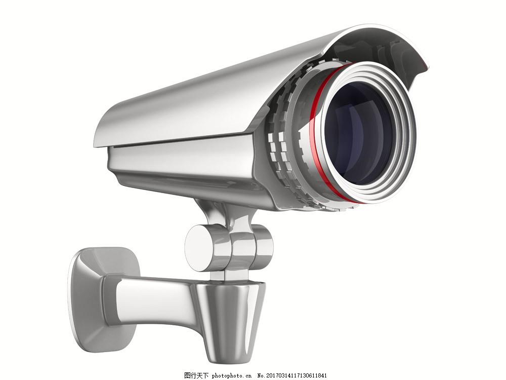 电子监控器图片素材 监控器 电子眼 电子监控 监控摄像头 电脑数码