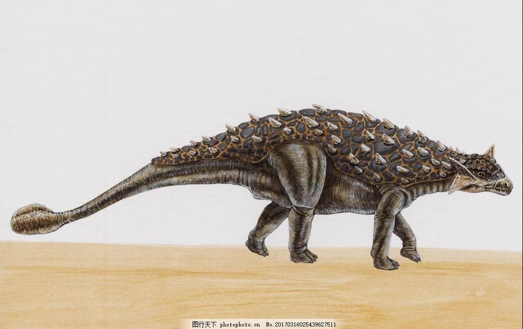 锤龙 恐龙 侏罗纪 恐龙时代 恐龙绘画 恐龙手绘 恐龙复原图