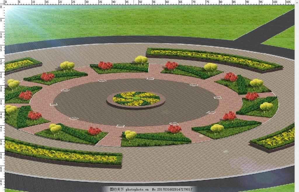 广场 小区 休闲区 公园 绿地 亭廊 设计 环境设计 景观设计 300dpi ps